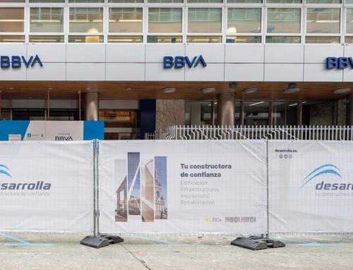 Remodelación de la central de BBVA