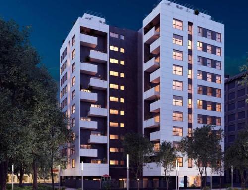 Nuevo edificio de 64 viviendas en Tabacalera